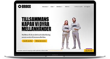 Låna pengar hos Brocc