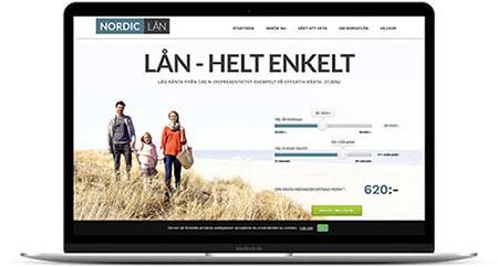 Hos Nordiclån får du pengarna insatta på ditt konto samma dag som lånet blir godkänt (eller allra senast vardagen efter)