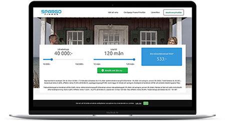 Låna pengar till vad du vill hos Spargo Finans