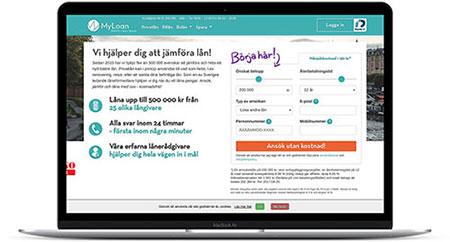 Ansök om privatlån via MyLoan