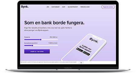 Låna 35000 kr hos Bynk